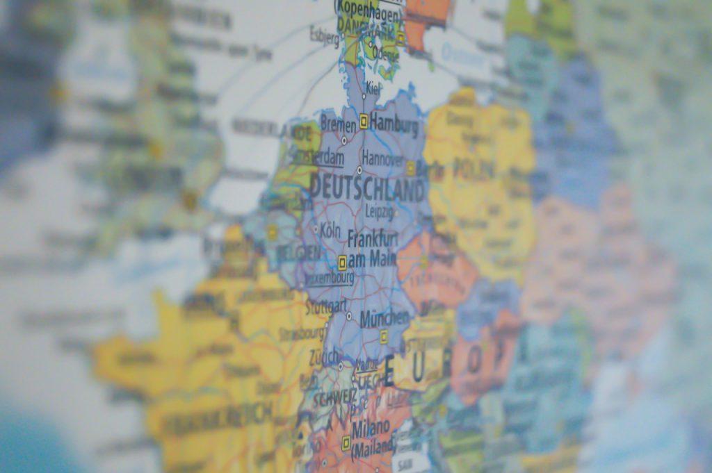 alemanha no mapa 1 1024x681 - 15 motivos para morar na     Alemanha